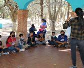 Realizan taller de rescate de fauna silvestre en Las Peñas