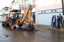 """Arranca construcción del Colector Pluvial """"Los Guayabos"""""""