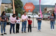 Inauguran rehabilitación de la calle Joaquín Aguirre