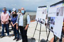 Registra 87% construcción del Malecón de la Laguna de Zapotlán
