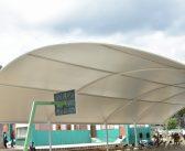 Inauguran Domo en Escuela de la delegación de Atequizayán