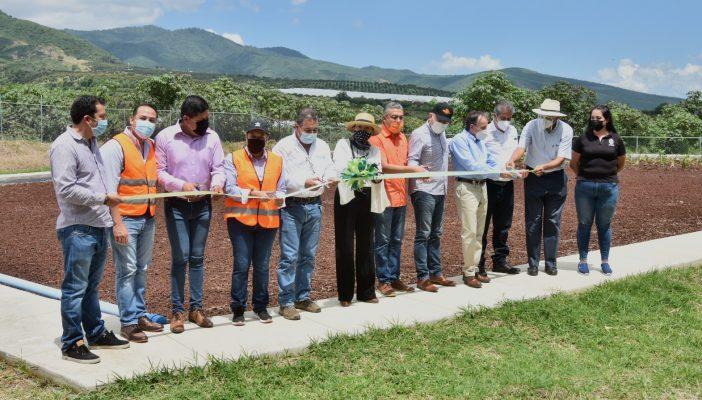 Inauguran Humedal Artificial en Atequizayán